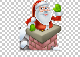圣诞老人卡通烟囱,圣塔烟囱PNG剪贴画冬天,虚构人物,免版税,圣诞