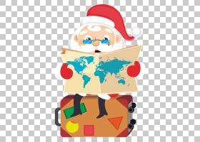 圣诞老人圣诞节,动画片圣诞老人坐PNG clipart卡通人物,假期,圣诞