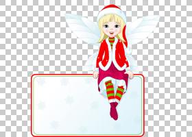 圣诞节童话,圣诞精灵PNG剪贴画标签,文本,摄影,小精灵,圣诞节装饰