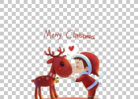 圣诞节装饰圣诞老人的驯鹿iPhone 7,男孩圣诞快乐驯鹿PNG clipart