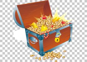埋藏宝藏,满箱金币金砖四国材料PNG剪贴画食品,摄影,黄金,礼品盒,