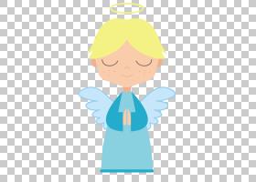 天使卡通,可爱的天使PNG剪贴画蓝色,儿童,手,头,男孩,虚构人物,可