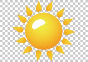 太阳元素,太阳卡通PNG剪贴画其他,橙色,生日快乐矢量图像,卡通,阳