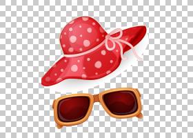 太阳镜护目镜海滩图标,海边PNG剪贴画帽子,海滨度假村,卡通,海洋,