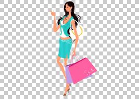 女人,时尚女孩PNG剪贴画模板,时尚女孩,城市,女孩,时尚插画,卡通,