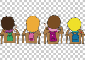 学校老师Alumnado教室,学生儿童PNG剪贴画班,人,儿童,卡通,儿童框