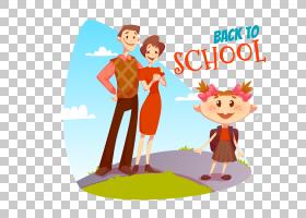 学生,去学校PNG剪贴画其他,儿童,文本,橙色,友谊,海报,卡通,虚构