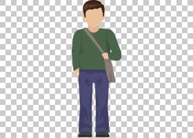 学生Estudante,男人剪影PNG剪贴画t恤,png材料,背包,人,商务男人,