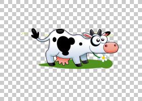 奶牛牲畜,奶牛PNG剪贴画食品,动物,牛矢量,卡通,虚构人物,乳制品