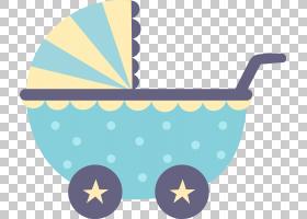 婴儿运输婴儿卡通绘图,手绘卡通婴儿车PNG剪贴画卡通人物,蓝色,儿