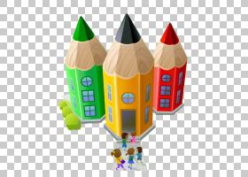 学生学校卡通,个性化铅笔艺术学校PNG剪贴画儿童,铅笔,彩色铅笔,