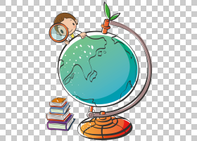 学生硬币男孩,男孩研究地球PNG clipart杂项,卡通,男孩矢量,地球
