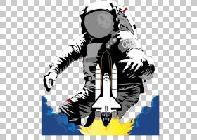 宇航员外太空太空服欧几里德,宇航员天堂PNG剪贴画航天器,海报,生