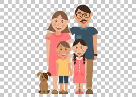 家庭孩子父母,平的动画片家庭PNG clipart卡通人物,人民,友谊,蹒