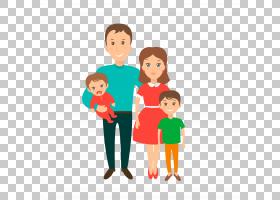 家庭欧几里德,家庭PNG剪贴画爱,孩子,婴儿,人民,友谊,蹒跚学步,生