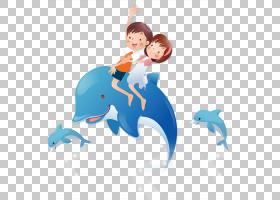 卡通Cdr,水族馆海豚PNG剪贴画漫画,蓝色,海洋哺乳动物,哺乳动物,