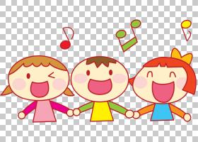 卡通唱歌,唱歌的孩子PNG剪贴画儿童服装,儿童,文本,手,心,儿童,装