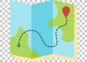 卡通地图欧几里德,旅游地图PNG剪贴画宝石,角度,文本,生日快乐矢
