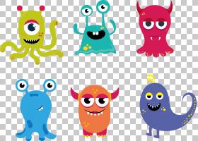 卡通怪物绘图,卡通怪物PNG剪贴画卡通人物,漫画,素材,电影,卡通眼