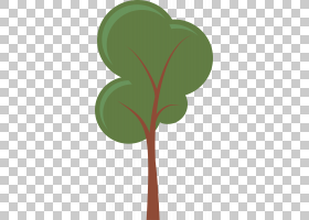 卡通树,林地PNG剪贴画叶,科,草,植物茎,免版税,桌面壁纸,植物,自