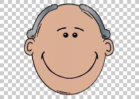 卡通脸男人,祖父的PNG剪贴画孩子,头,royaltyfree,眼,人类头,人类
