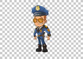 卡通警官皇室,卡通警察的PNG剪贴画卡通人物,蓝色,卡通武器,人,漫