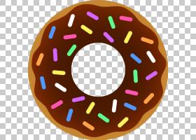 咖啡和甜甜圈甜甜圈结霜和结冰,不健康的PNG剪贴画食物,演示文稿,