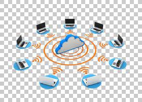 云计算服务器计算机网络数据中心,云信息交换PNG剪贴画电子,云,计