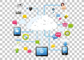 云计算服务图标,云链接PNG剪贴画小工具,文本,云,数字,粉红色云,