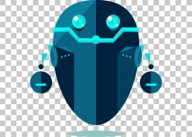 人工智能机器人聊天机器人图标,机器人PNG剪贴画蓝色,电子产品,人