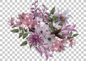 人造花水彩画,卡通水彩花卉装饰s PNG剪贴画水彩叶子,花卉,婚礼,