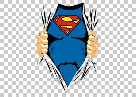 克拉克肯特T恤超人标志美国漫画书袖子,超人,超人PNG剪贴画T恤,漫