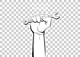劳动者工会,工人的手PNG剪贴画白,手,摄影,单色,生日快乐矢量图像