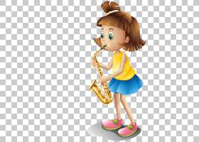 乐器儿童,女孩卡通爵士鼓材料PNG剪贴画卡通人物,女孩,蹒跚学步,