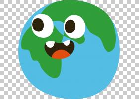九行星太阳系贴纸,嘴行星PNG剪贴画杂项,草,笑脸,卡通,天文物体,