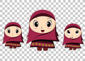 丈夫婚姻伊斯兰教建议斋月,伊斯兰教PNG剪贴画孩子,脸,头,卡通,虚