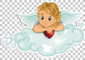 丘比特天使,天使PNG剪贴画图像文件格式,虚构人物,卡通,封装的Pos
