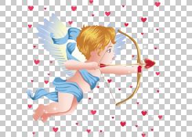丘比特弓天使爱,卡通丘比特PNG剪贴画爱,卡通人物,儿童,卡通武器,