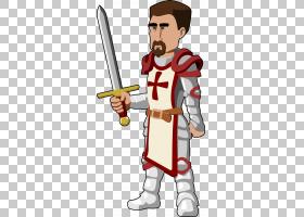 中世纪骑士勋爵,骑士的PNG剪贴画手,卡通,虚构人物,棒球设备,中世