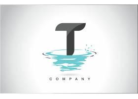 字母T形象创意LOGO设计