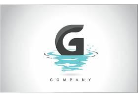 字母G形象创意LOGO设计图片