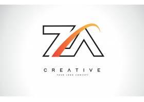 字母ZV形象创意LOGO设计