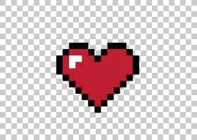 8位心脏8位彩色像素,像素爱,像素化心脏PNG剪贴画爱,心,视频游戏,