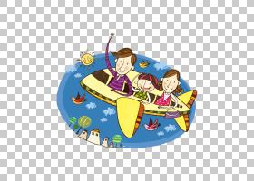 飞机旅行家庭,飞回家PNG剪贴画摄影,昆虫,飞行,卡通,版税免费,父