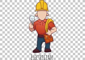 电工欧几里得,卡通消防员PNG剪贴画卡通人物,帽子,文本,消防员,手