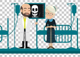 病人医生治疗,医生治疗患者PNG剪贴画电子产品,公共关系,卡通,封
