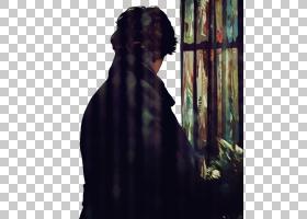 福尔摩斯的回归,夏洛克福尔摩斯手绘在后面的PNG剪贴画水彩画,画,