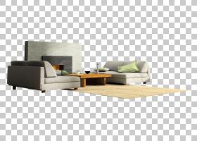 窗帘客厅室内设计服务沙发,灰色沙发PNG剪贴画角,家具,画,手,沙发