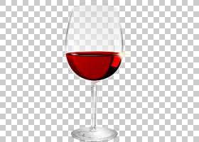 红葡萄酒酒杯,红色卡通红酒PNG剪贴画卡通人物,玻璃,简单,装饰,酒