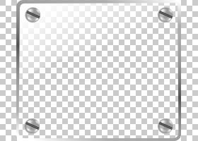 绘制圆角,螺丝元素PNG剪贴画玻璃,矩形,灰色,卡通,封装PostScript